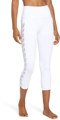 Alo Chevron High Waist Capri Leggings