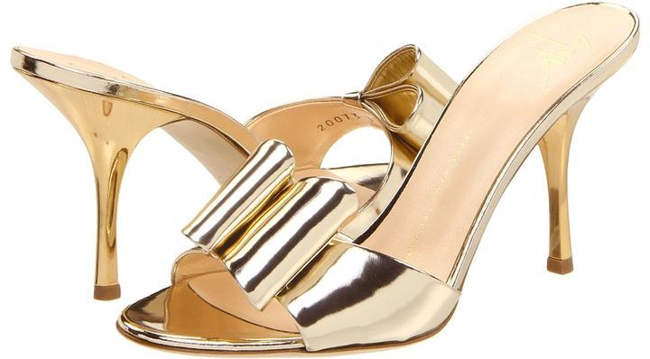 Giuseppe Zanotti E20073 (Platino) - Footwear
