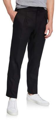 Ralph Lauren Men's RLX Relaxed Drawstring Linen Trousers, Black