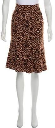 Diane von Furstenberg Knee-Length Wool Skirt
