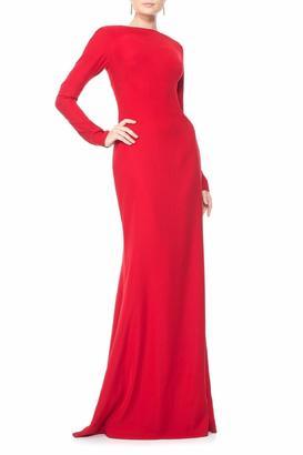 Tadashi Shoji Scarlet Red Gown $428 thestylecure.com