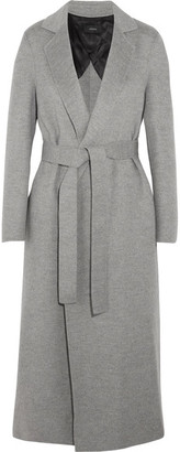 Joseph - Kido Wool And Cashmere-blend Coat - Gray $1,145 thestylecure.com