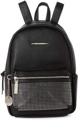 Steve Madden Black Mona Studded Backpack