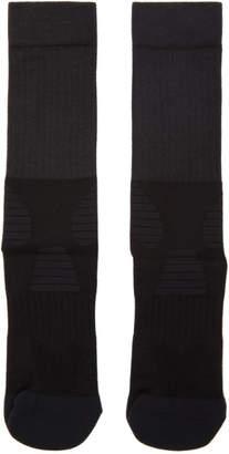 Y-3 Black and White Tube Socks