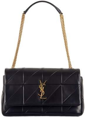 Saint Laurent Medium Jamie Patchwork Leather Bag