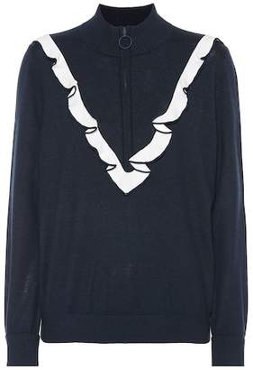 Tory Sport Performance cashmere-blend sweater