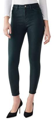 DL1961 Premium Denim Farrow High-Rise Ankle Skinny Jeans