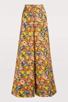 Marni Printed denim pants