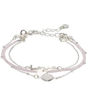 "Lauren Conrad Simulated Crystal ""Love"" Multistrand Nickel Free Bracelet"