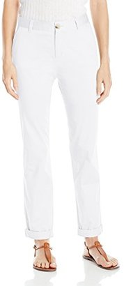 Dockers Women's Ella Straight-Leg Relaxed-Fit Pant $30 thestylecure.com