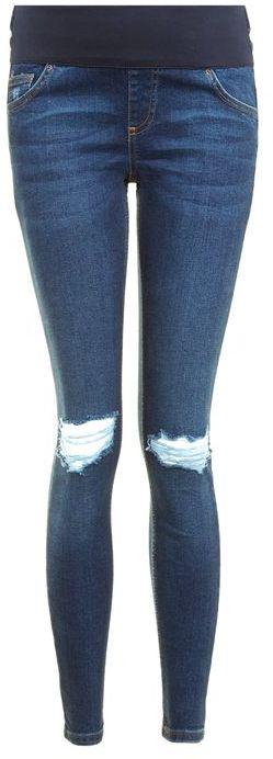 TopshopTopshop Maternity dark indigo jamie jeans