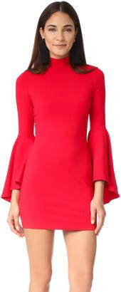 Susana Monaco Izzie Mock Neck Dress $211 thestylecure.com