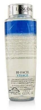 Lancôme NEW Bi Facil Visage Bi-Phased Micellar Water Face Makeup Remover & 400ml