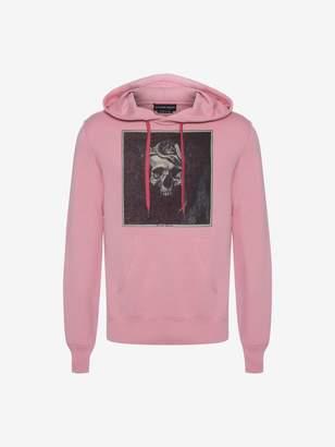 Alexander McQueen Crowned Skull Hooded Sweatshirt