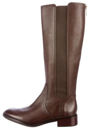 Tory Burch Tory Burch Leather Mid-Calf Boots