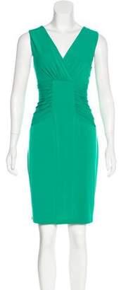 Calvin Klein Gathered Sleeveless Dress
