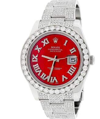 Rolex Datejust II 116300 Stainless Steel Oyster Diamond Dial Bezel & Bracelet 41mm Mens Watch