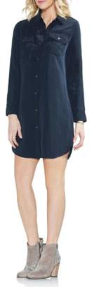 Vince Camuto Two-Pocket Shirtdress