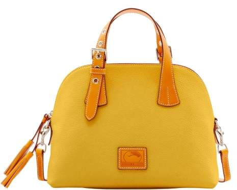 Dooney & Bourke Patterson Leather Small Audrey Top Handle Bag - DANDELION - STYLE