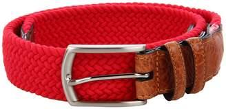 Torino Leather Co. 32MM Italian Woven Multi Cotton Elastic Men's Belts