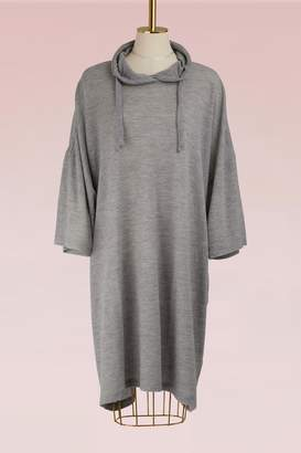 Maison Margiela Wool Sweatshirt Dress