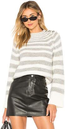 Marled x Olivia Culpo Striped Sweater