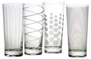 Mikasa Cheers Highball Glass Set Of 4