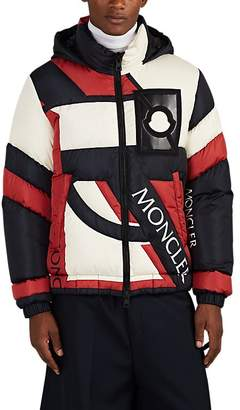 Craig Green 5 MONCLER Men's Plunger Logo Down-Quilted Puffer Coat