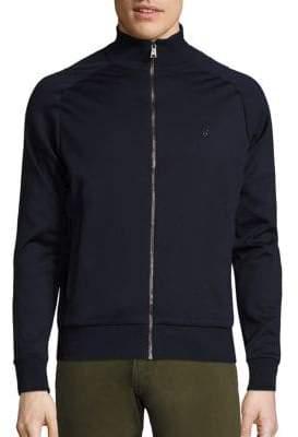 Ralph Lauren Purple Label Full-Zip Mockneck Sweater