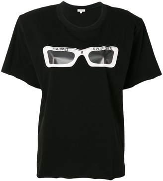 Natasha Zinko glasses print T-shirt