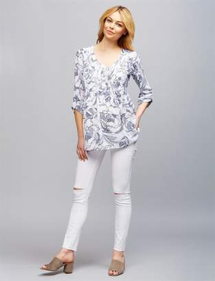 Paige Secret Fit Belly Skinny Leg Maternity Jeans