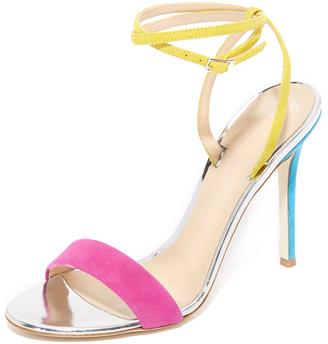 Giuseppe Zanotti Ankle Strap Sandals $650 thestylecure.com