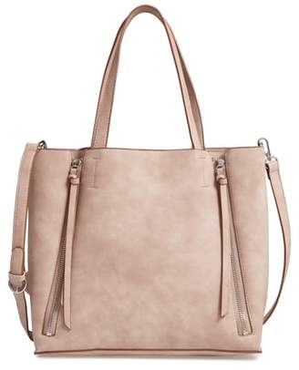 ... Nordstrom · Chelsea28 Leigh Convertible Zipper Faux Leather Tote 9660fc4009