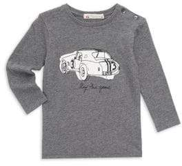 Bonpoint Baby Boy's& Little Boy's Long Sleeve Graphic Tee