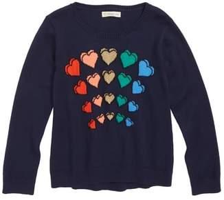 Tucker + Tate Sparkle Heart Sweater