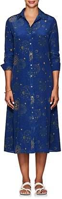 Leone WE ARE Women's Astrology-Print Silk Shirtdress