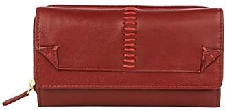 Hidesign Stitch Large Luxury Leather Wallet Clutch