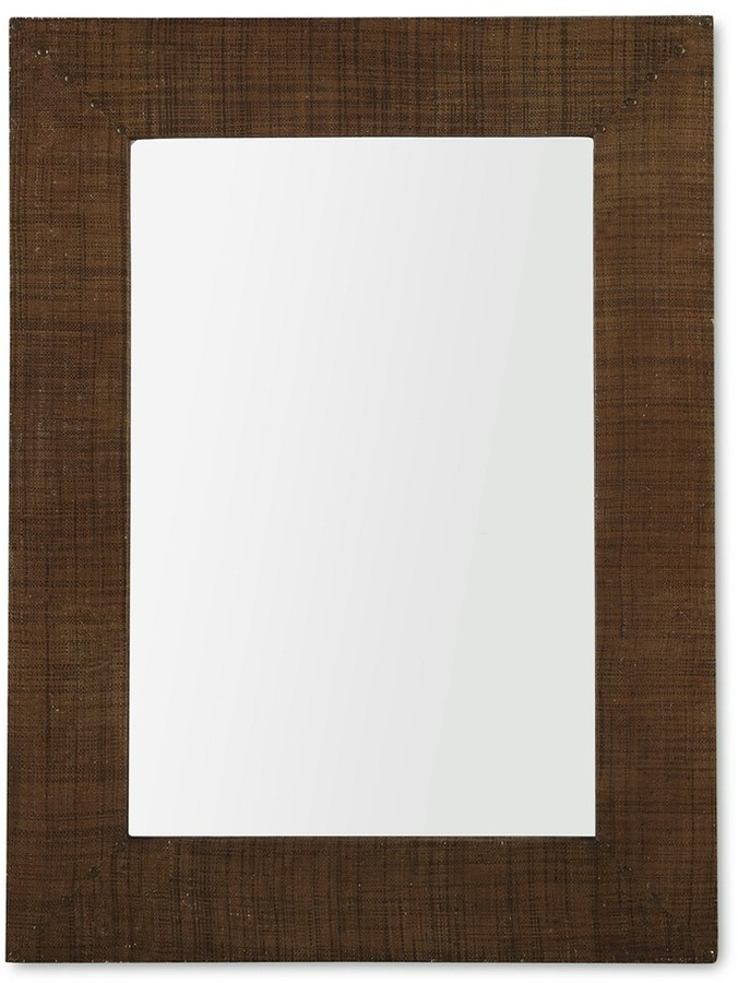 Williams-Sonoma Raffia Mirror