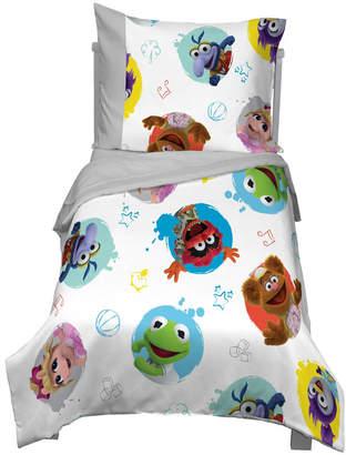 Disney Muppet Babies 4-Piece Toddler Bedding Set Bedding