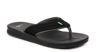 Sanuk Brumeister Mesh Flip Flop - Men's