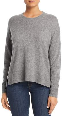 Bloomingdale's C by Side-Zip Cashmere Sweater - 100% Exclusive
