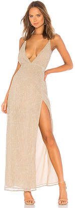by the way. Hailee High Slit Maxi Dress