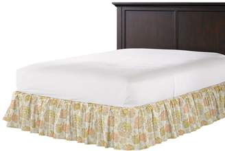 Loom Decor Ruffle Bedskirt Blush Hour - Apricot
