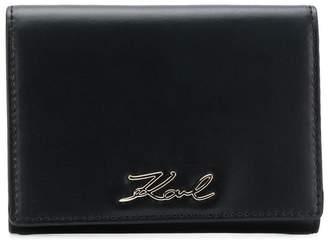 Karl Lagerfeld Signature fold wallet