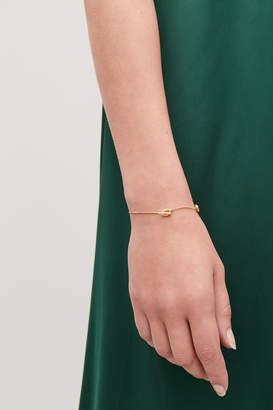 Cos GOLD-PLATED CHAIN BRACELET