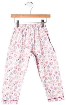 Rachel Riley Girls' Floral Pajama Pants