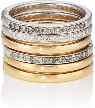 Roberto Marroni Women's Diamond Six-Band Ring
