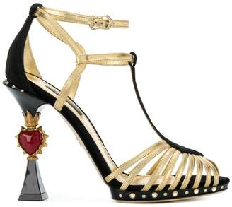 Dolce & Gabbana Bette sculpted heel sandals