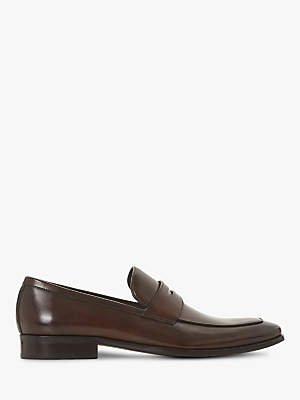 Dune Predictable Leather Loafers