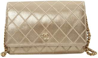 Chanel Wallet on Chain leather clutch bag